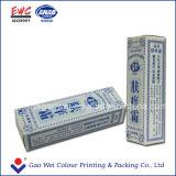 Verpackende Papierkästen für Medizin-Paket-Papierkasten
