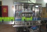 Печатная машина автомобиля шампуня бутылки заполняя покрывая обозначая