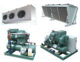 Unidad de condensación para el sitio de almacenaje de la cámara fría