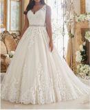2017 plus Kleding Ctd208 van het Huwelijk van de Grootte de Bruids