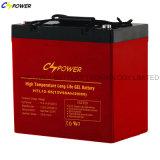 12V Batterij Op hoge temperatuur en Met lange levensuur van het 100ah de ZonneGel