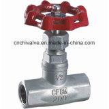Kugel-Ventil des Edelstahl-304 hergestellt in China