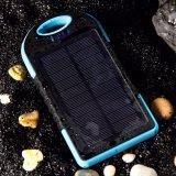Carregador celular externo da bateria do banco 12000mAh da potência do painel solar