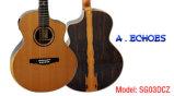 -Отголоски все Yulong Guo твердая двойная верхняя акустическая гитара (SG03DCZ)