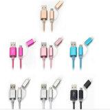 нейлон 1m изолировал 2 в кабель USB поручать и Sync 1 для iPhone, Samsung, iPad