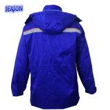 Workwear куртки зимы цвета королевской сини проложенный пальто