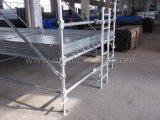 Sistema de andamios Cuplock - Torre de escalera de 10 piernas
