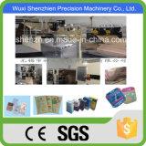 De Zak die van het Cement van het Document van Kraftpapier van de hoge snelheid Machine in Wuxi maken