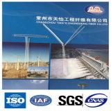 Fibra a macroistruzione della fibra del polipropilene pp con l'iso, certificazione Uesd dello SGS per materiale da costruzione
