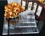 Kundenspezifischer eleganter Acrylbildschirmanzeige-Schmucksache-Standplatz