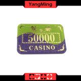 Bronzierende/Kristallacrylschürhaken-Chips Gewinn der für Kasino-Schürhaken-Verein bricht Ym-Cp006 ab