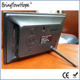 7 рамка фотоего USB цифров дюйма TFT LCD SD в пластмассе (XH-DPF-070S8)