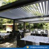 Aluminiumpergola-Luftschlitz-Öffnungs-Dach