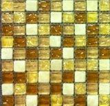 プールのタイルの円形のモザイク円形浮彫りの床パターン