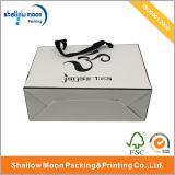 Bolsa de papel plegable compras de embalaje (qy150192)