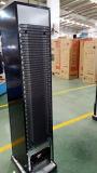Refrigerador magro refrigerando do indicador do sistema do ventilador verticalmente