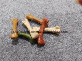 Различными сортированная цветами еда продуктов собаки косточки