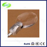 LEIDENE Medische Magnifier Lamp, Desktop/Handvat Magnifier Loupe met LEIDEN Licht