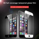 3D deckte voll weichen Rand-ausgeglichenes Glas-Telefon-Film für iPhone 7/7 Plusschoner ab
