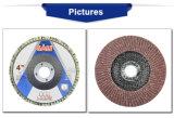 disco de la solapa del óxido de aluminio de 180X22.2m m para el metal y la madera