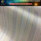 Preiswerter Polyester-Streifen-Gewebe-Hersteller für Futter (S11.57)
