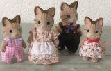 Doll van het Stuk speelgoed van de Familie van Sylvanian Pluche Gevuld voor Gift
