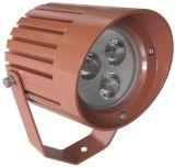 luz del punto de 9W LED con negro o color de la plata