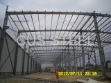 De geprefabriceerde Structuur van het Staal voor de Workshop Buliding van de Structuur van het Pakhuis/van het Staal