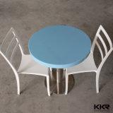 Mármol Artificial Solid Surface Mesa de comedor mesa de restaurante