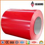 Rouleau en aluminium de couleur de matériau de toiture de PVDF (couleur solide)