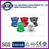 Logotipo personalizado Fabricante de formas de animais Banco de moedas de economia de plástico