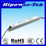 Alimentazione elettrica costante elencata della corrente LED dell'UL 25W 600mA 42V con 0-10V che si oscura