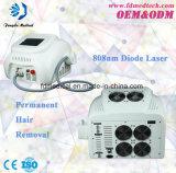 Strumentazione portatile professionale di rimozione dei capelli del laser del diodo di Permanent 808nm di Guarranted di qualità