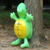 Kids Birthday party of poison PVC Inflatable Sea Turtle Toy for Swimming pool or Beach