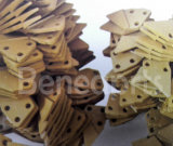 cortador de la cara del acero de carbón del diente del compartimiento de los excavadores del acero de aleación 332-C4390