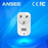 Interruptor sin hilos elegante estándar BRITÁNICO del enchufe de potencia, con el IOS y el APP androide