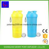Ensalada de plástico taza de la botella de la coctelera Botellas de agua