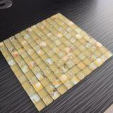 Azulejo de suelo caliente de la ducha del mosaico de la venta con el shell de cristal