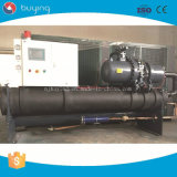 Serie industrial refrigerada por agua del refrigerador del tornillo para el molde