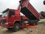 Camion à benne basculante utilisé de 6*4 LHD HOWO à vendre à Philippines