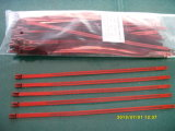 Tipo cintas plásticas da escada do aço inoxidável com o plástico revestido