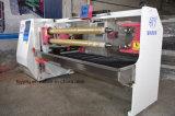 Machine de fente de bande de PVC de fonction de découpage de roulis