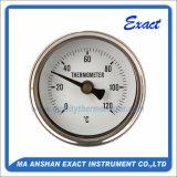Todo el termómetro del acero inoxidable - termómetro bimetálico - termómetro de horno