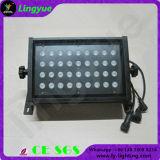 DMX512 LEDの壁の洗濯機の防水ライトRGB 36W