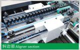 Dobrador ondulado Gluer da caixa da parte inferior automática do fechamento do ruído elétrico (GK-1200/1450/1600AC)