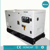 Tipo silencioso 400kVA de refrigeração água que gera com gerador de Perikins