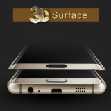 la chaleur 3D dépliant le protecteur incurvé de téléphone en verre Tempered de bord pour le bord S6/S6
