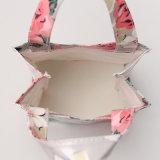 방수 PVC 분홍색 형식 적포도주는 자루에 넣는다 핸드백 (A078-5)를