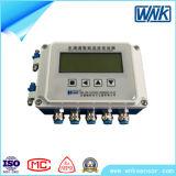Transmisor elegante de la temperatura 4-20mA/Hart con la cubierta del Al y visualización del LCD que utiliza la entrada de información multi