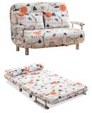 작은 단위를 위한 2인용 의자 직물 Sofabed